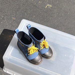 Boys baby gap Batman rain boots